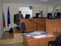 Брифинг 15.10.2008 Окръжен съд Ловеч