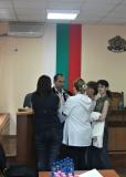 Брифинг 22.09.2008 Окръженн съд Плевен